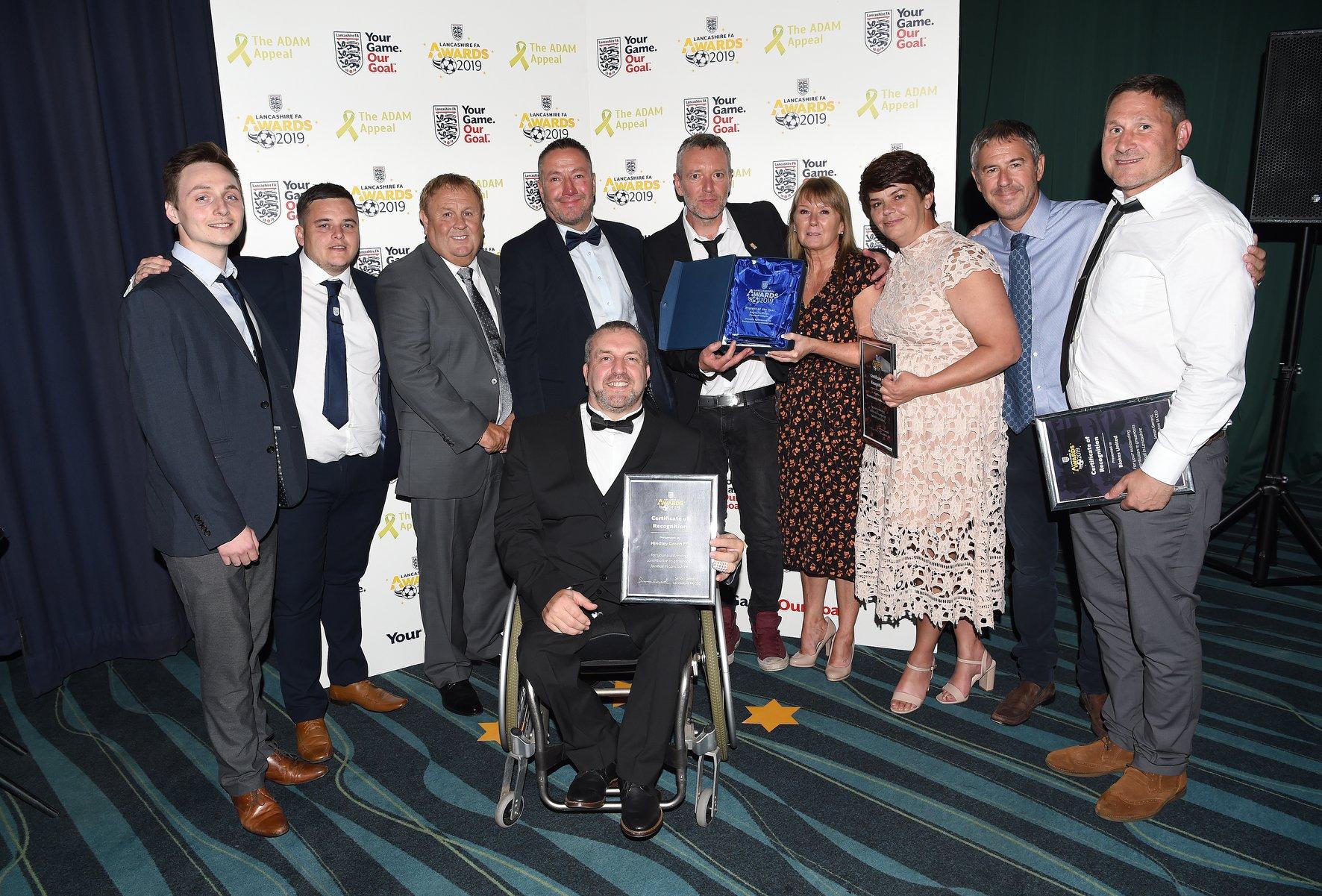 News release – Football league tackling mental health issues wins FA award