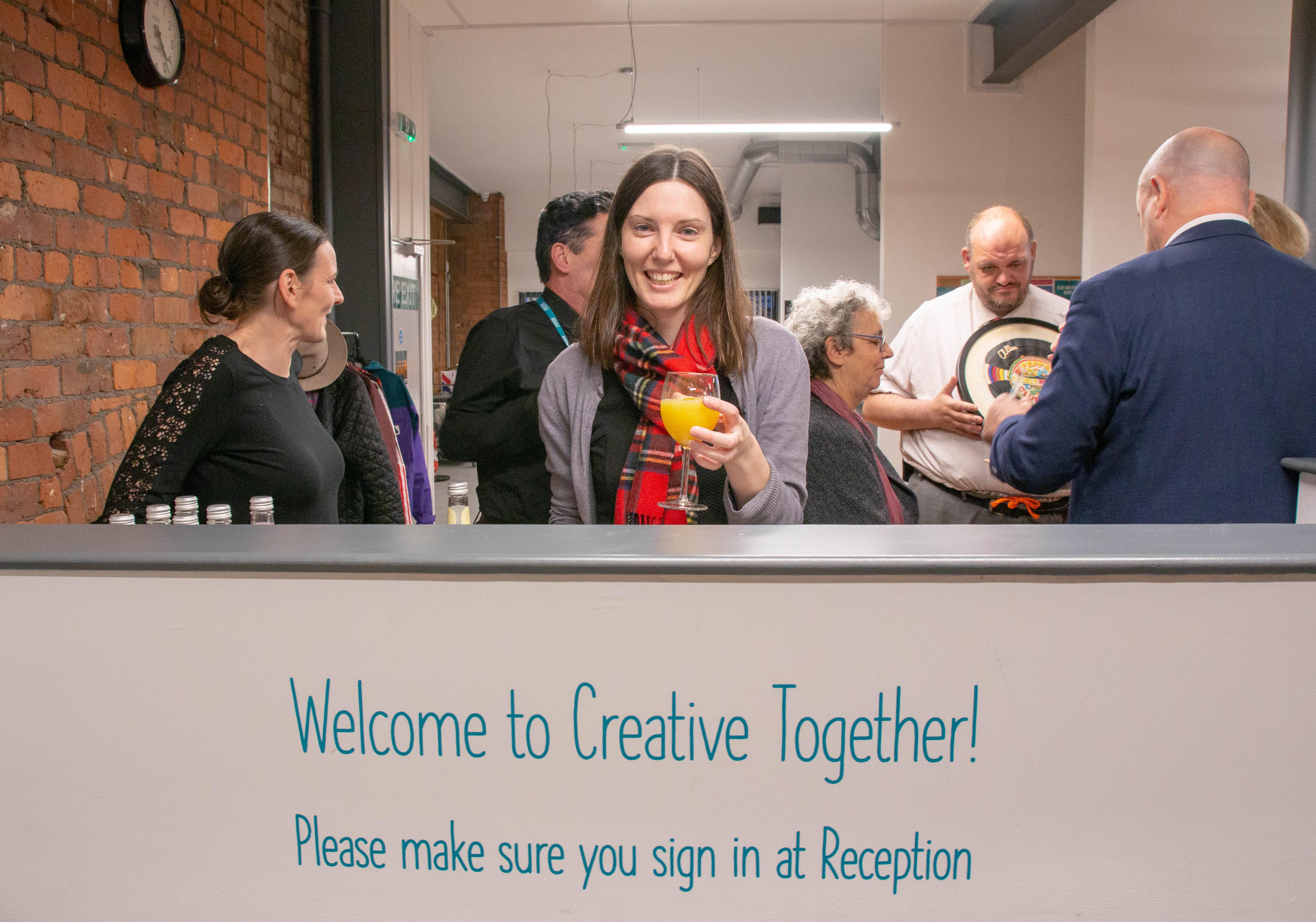 Creative Together marks its first anniversary