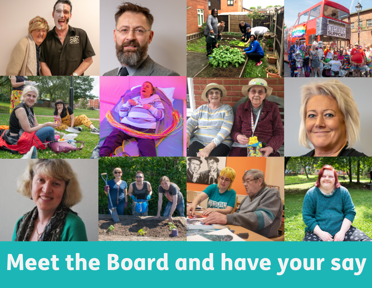 Meet the Board and have your say
