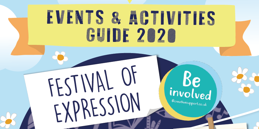Festival of Expression 2020 – make 2020 the year to try something new!