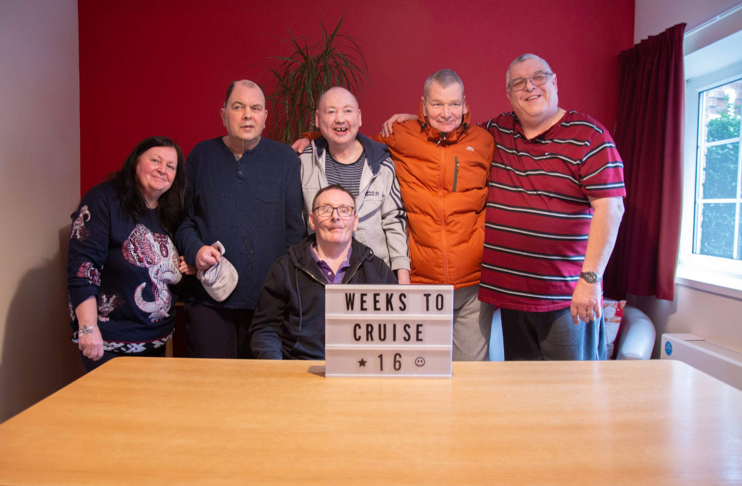 Tenants count down the weeks for holiday of a lifetime