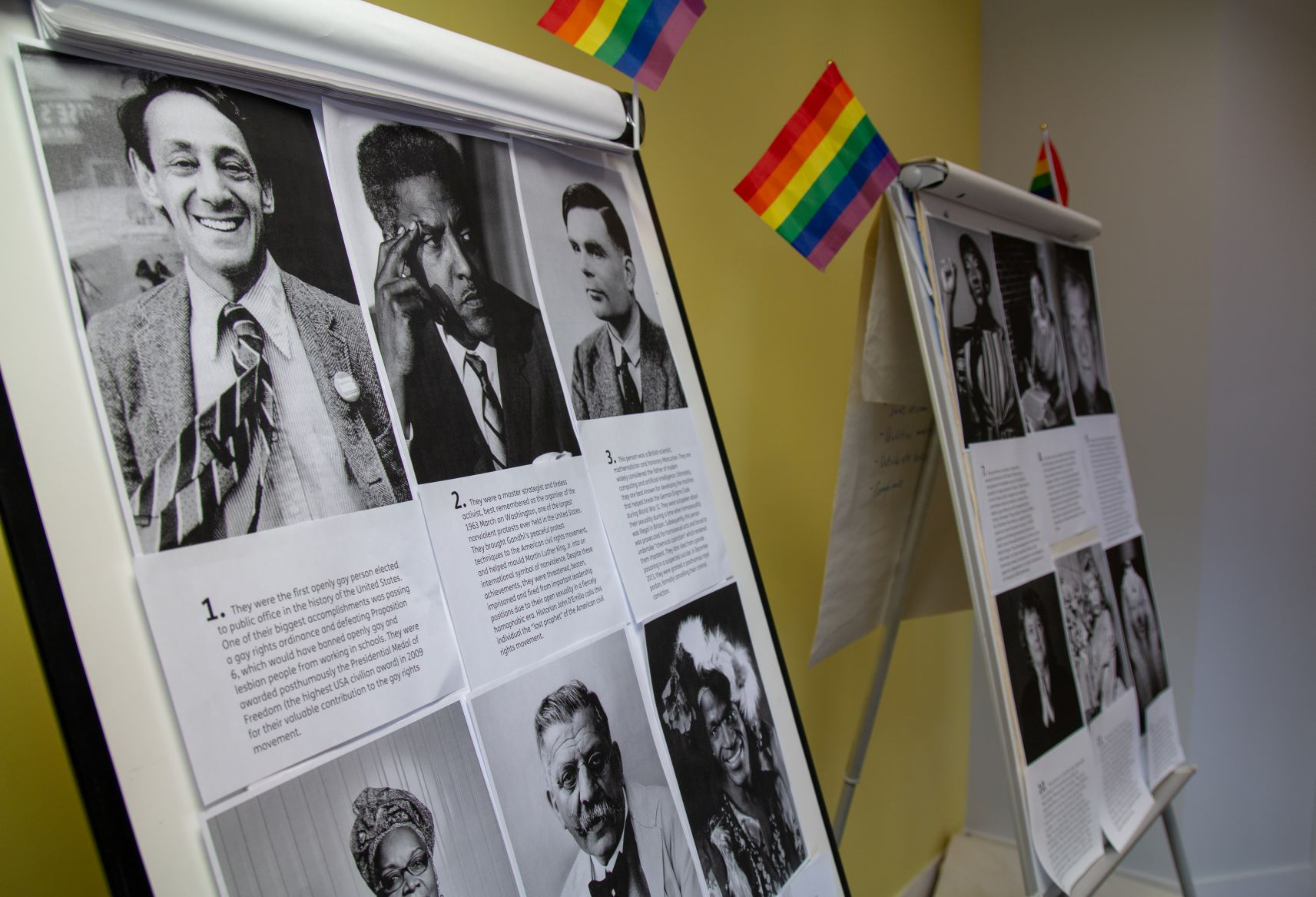 Staff host morning of activities to mark LGBT+ History Month