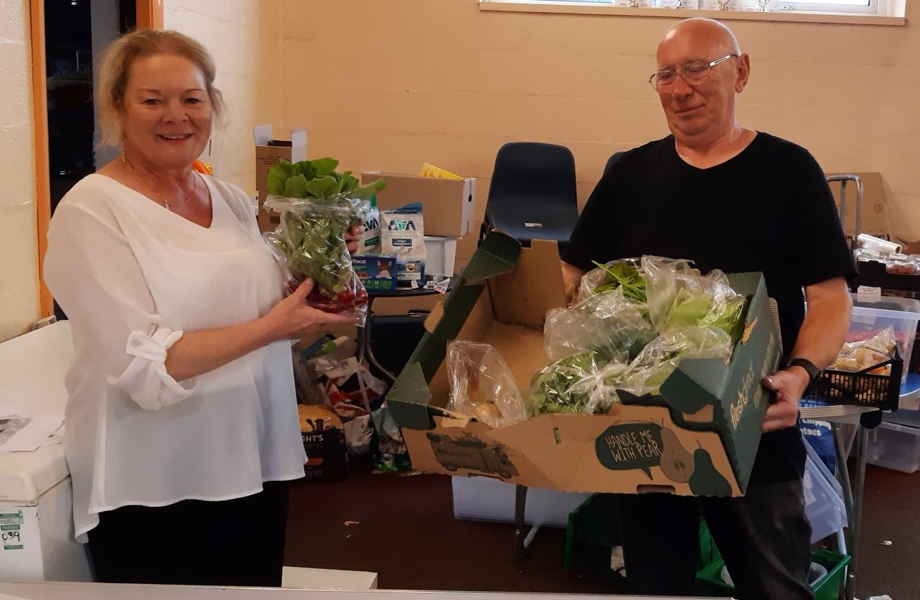 Creative Support gardeners dig deep to supply food banks