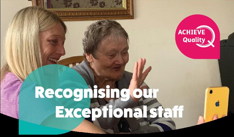 September 2020 Exceptional Staff Achieve Q Award Winners!