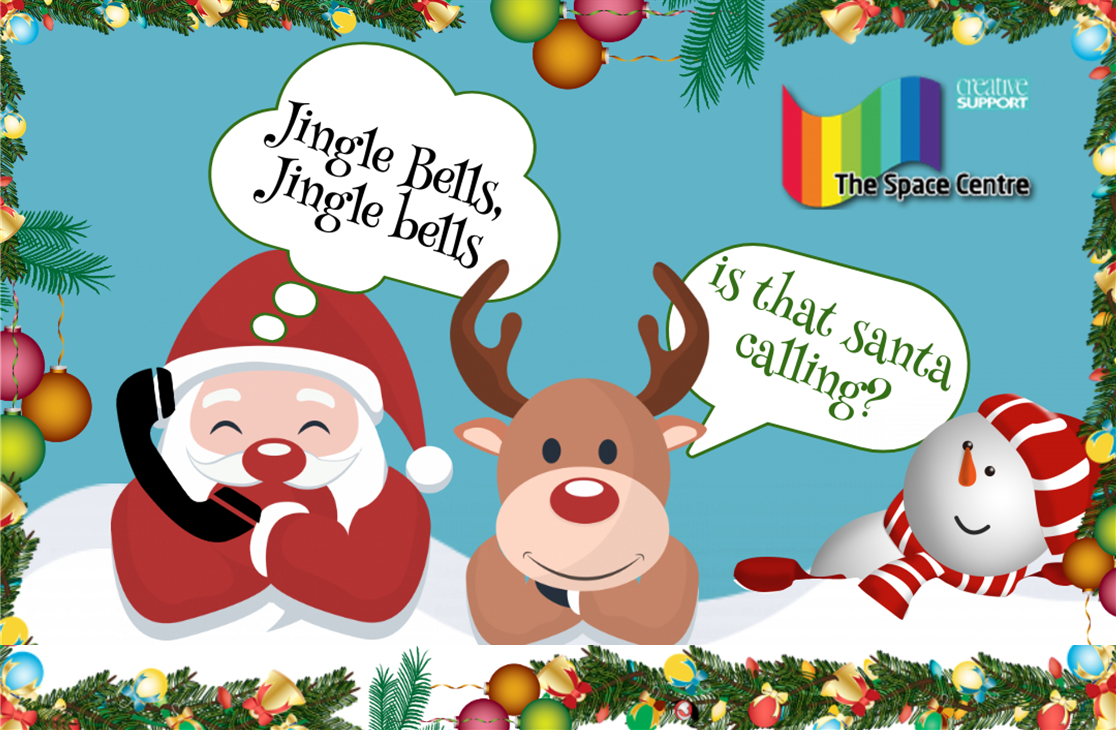 Creative Space Centre fundraising phone call from Santa!