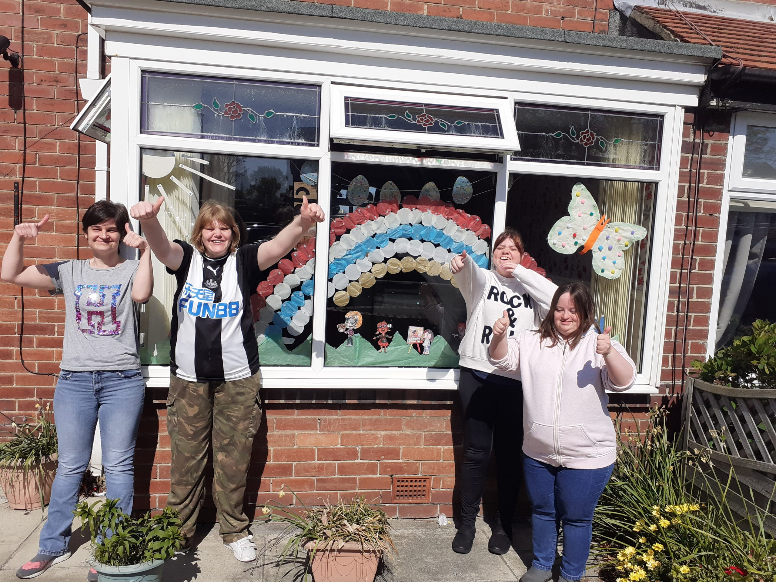 98% of Service Users are happy with their support from Creative Support
