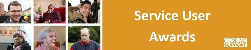 Service User Award Winners October 2020