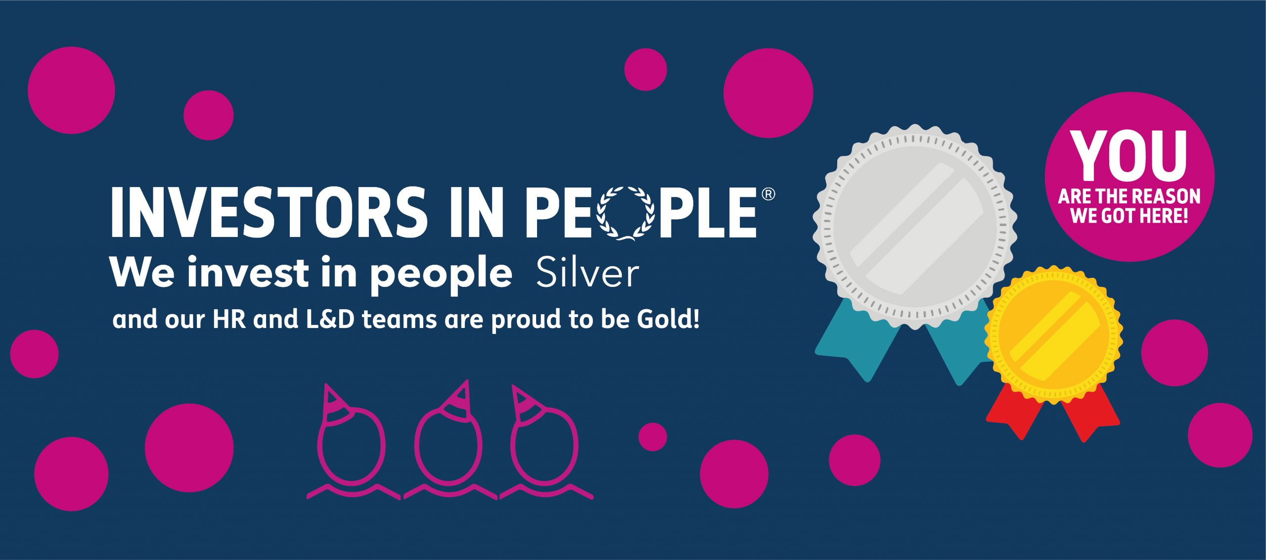 IIP Awards Gold and Silver for Creative Support's Dedication to Staff Learning and Development