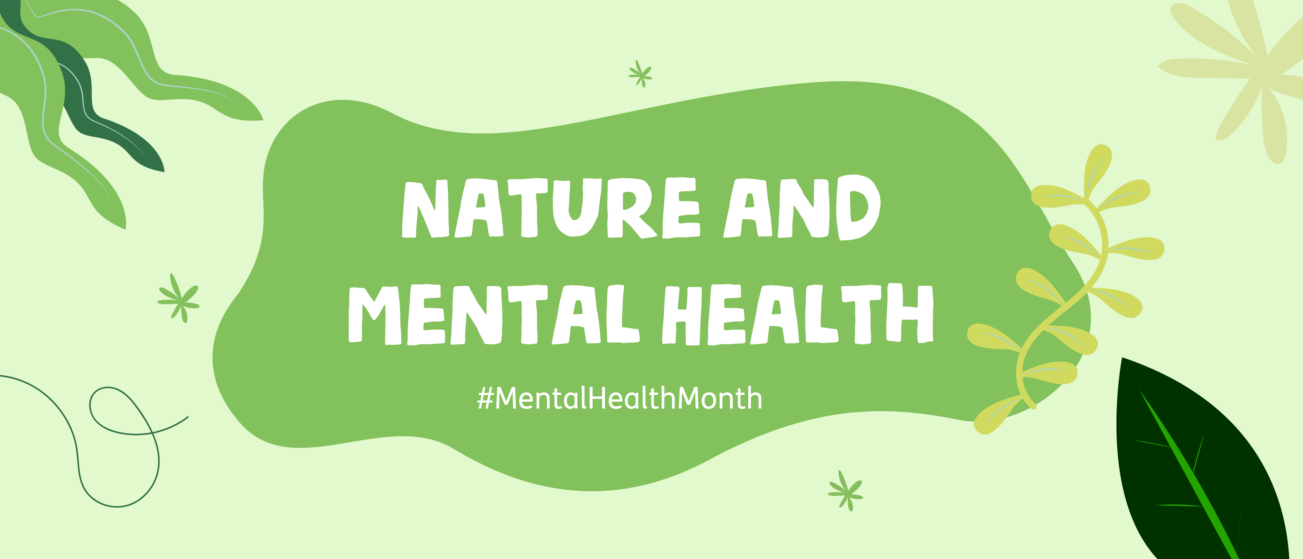 Nature and Mental Health Week