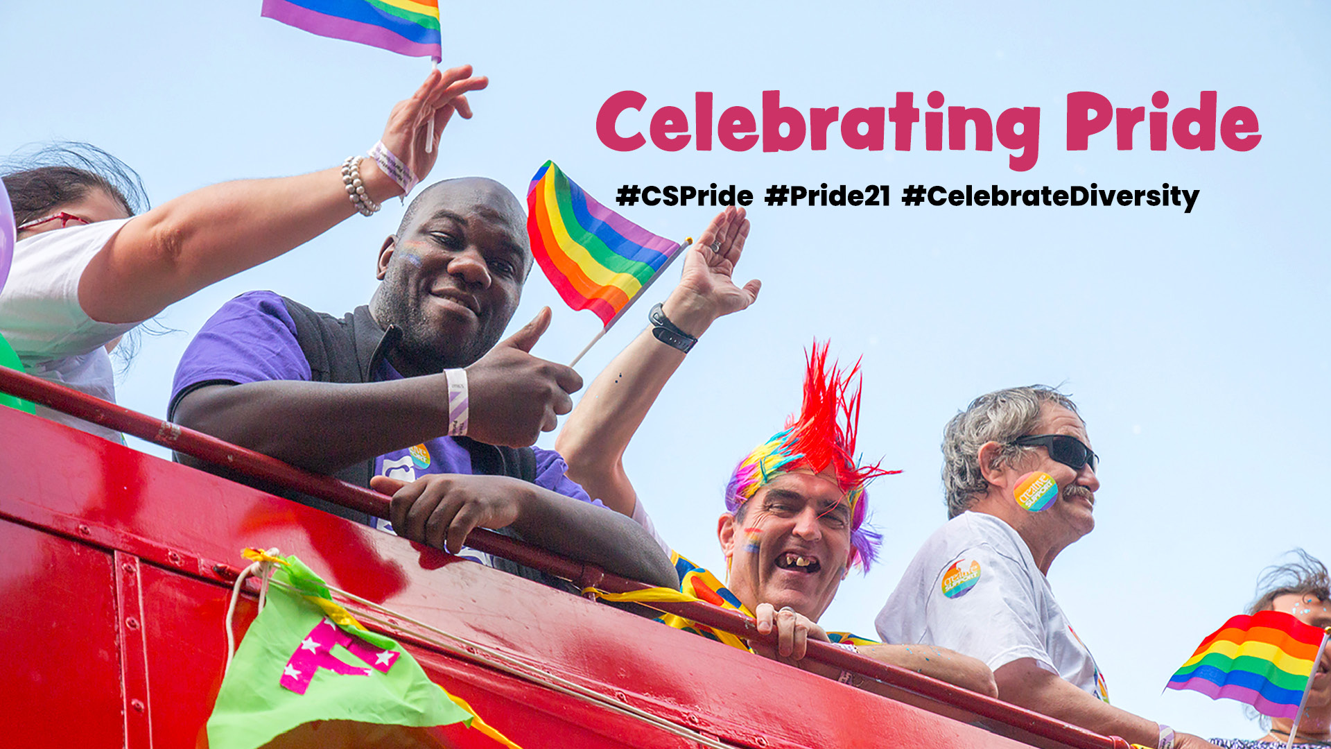 Join us in celebrating Pride this August