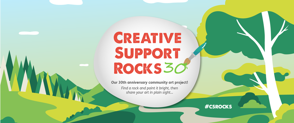 Creative Support Rocks 30!