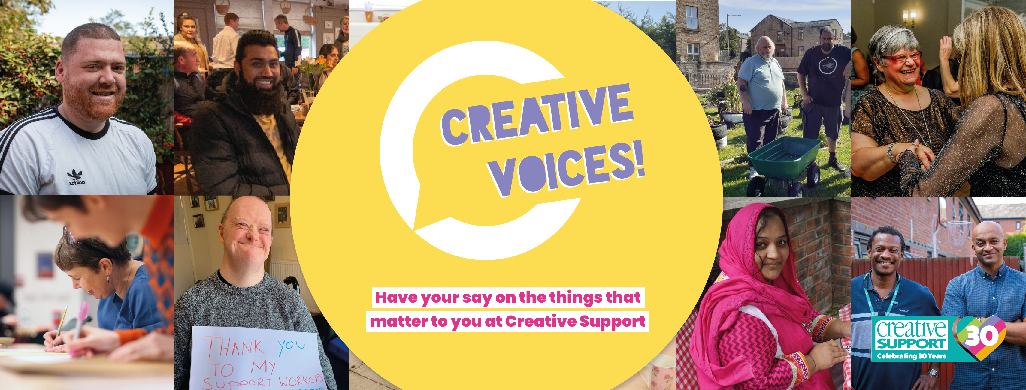 Join Creative Voices, our Service User forum